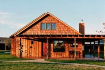 Texas Upland hunting cabin